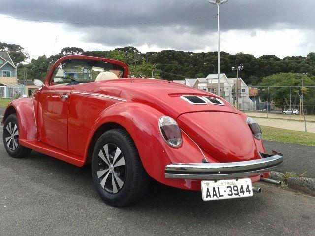 Vw - Volkswagen Fusca Cabriolet - Foto 8