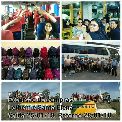Excursão de compras Santa Elena e Lether