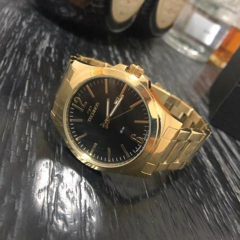 Relógio Technos Dourado A Partir De 299,00, Com Garantia de 12 Meses, Prova D'água, Origin - Foto 6