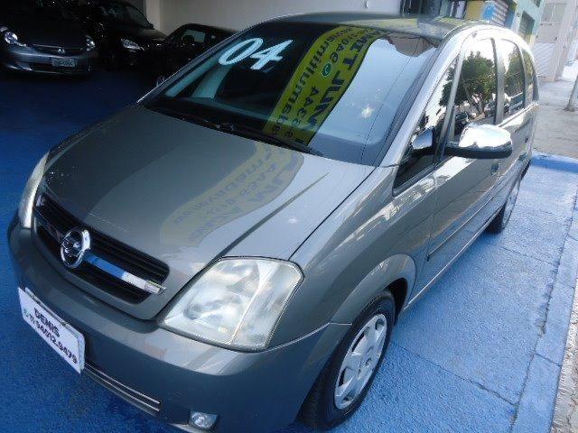 Gm - Chevrolet Meriva 1.8 2004 Cinza completa estudo troca e financio - 2004