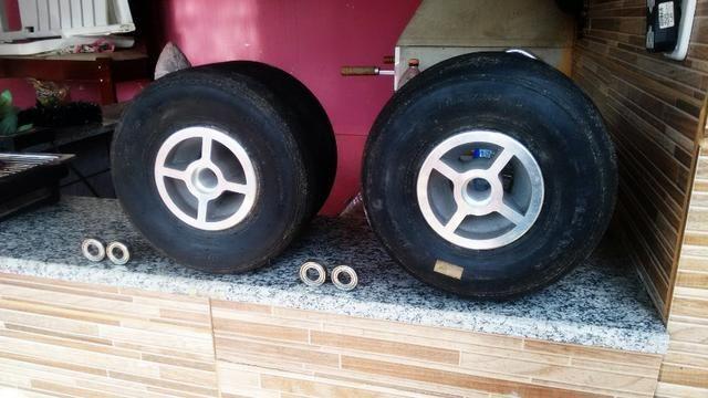 Jogo De Rodas Rolamentadas Para Drift Trike