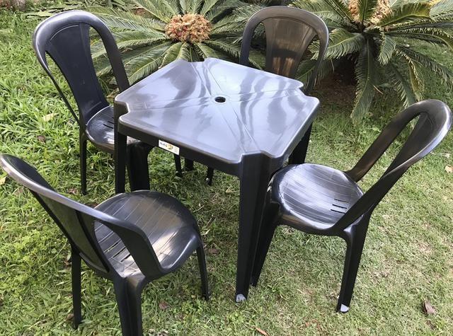 Cadeira bistro capacidade 182kg-R$27,90 Poltrona R$30,00 aprovada pelo Inmetro - Foto 4