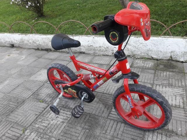 Vendo bicicleta carros aro 16 - Foto 2