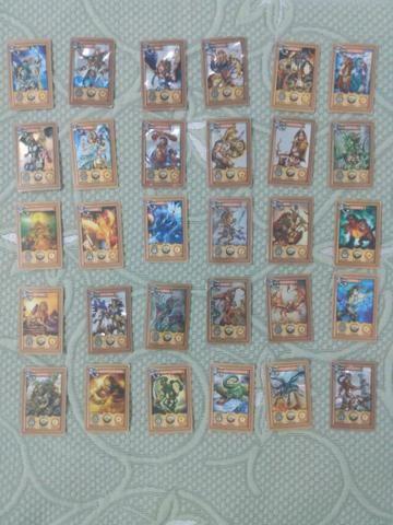 Coleção completa de 30 cartas Mithomania da Elma chips 2008