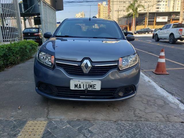 Renault Logan Expression 1.6 16/16 flex mec. cinza - Foto 3