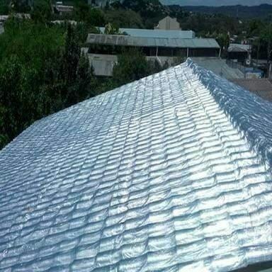 Aplicação de Mantas térmica em telhados