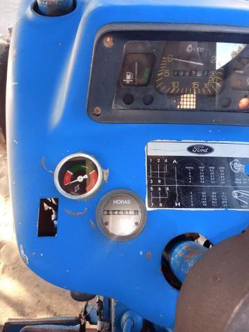 Trator ford 5610 com rocadeira - Foto 5