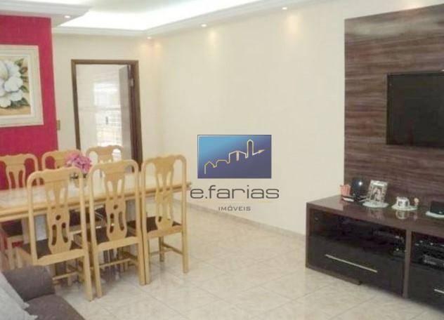 Sobrado com 4 dormitórios à venda, 138 m² por R$ 480.000,00 - Jardim Santa Maria - São Pau