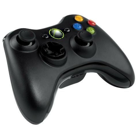 Vídeo Game Console Xbox X box 360 Original com Kinect 2 Manetes Controle Joystick 5 Jogos - Foto 4