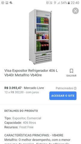 Expositor Refrigerador MetalFrio VB40RE2001 - Foto 5