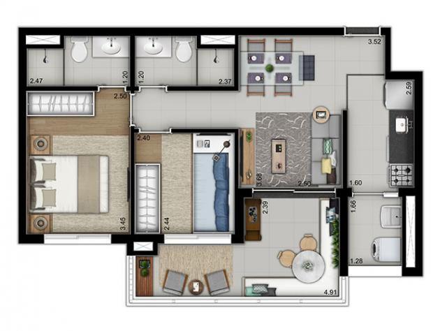 Elegante Apartamento em Vila Pompéia, com 3 dormitórios, sendo 1 suíte e área de 142 m² - Foto 17