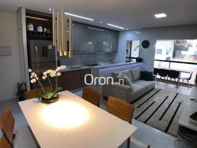 Apartamento com 2 dormitórios à venda, 59 m² por R$ 257.000,00 - Parque Amazônia - Goiânia - Foto 4