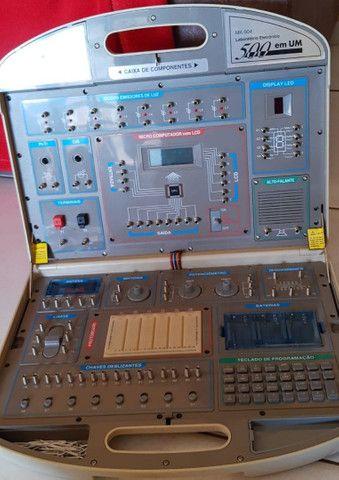 Kit eletrônica 500 em 1 Minipa MK-904 - Foto 6