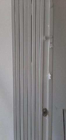 Porta blindex 4 folhas + pantográfica sanfona 2,10/2m - Foto 3