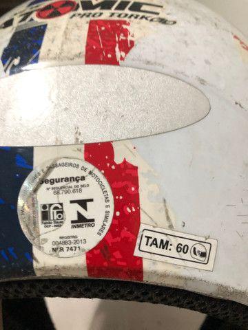 Capacete New Atomic Pro Tork Tam 60 - Foto 6