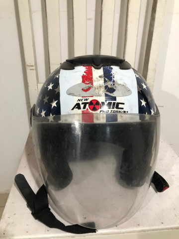 Capacete New Atomic Pro Tork Tam 60 - Foto 2