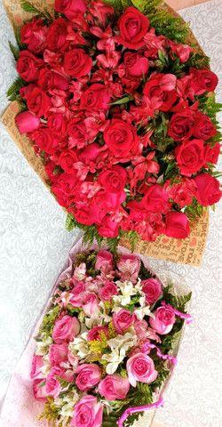 Buque de rosas naturais - Foto 3