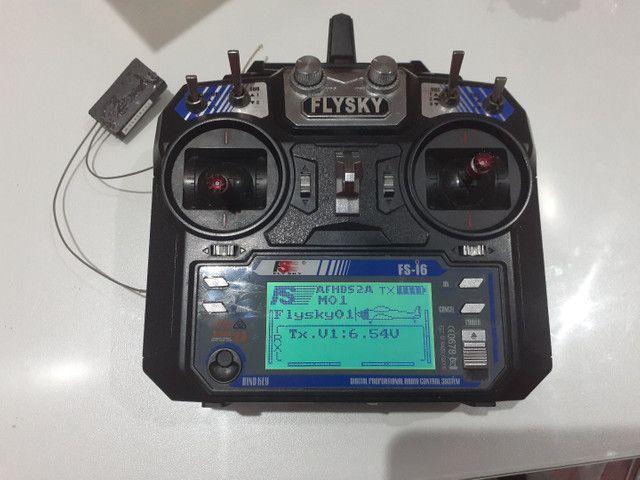 Rádio FlySky i6