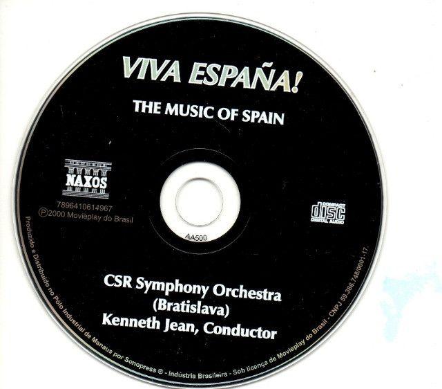 CD - Viva España - CSR Symphony Orchestra - Foto 3