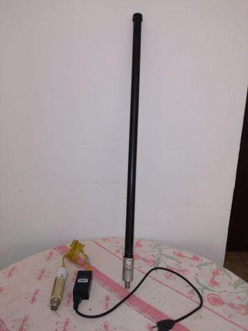 Kit wiereless Antena Aquario 15d bi Access Point Bullet 2hp + fonte POE