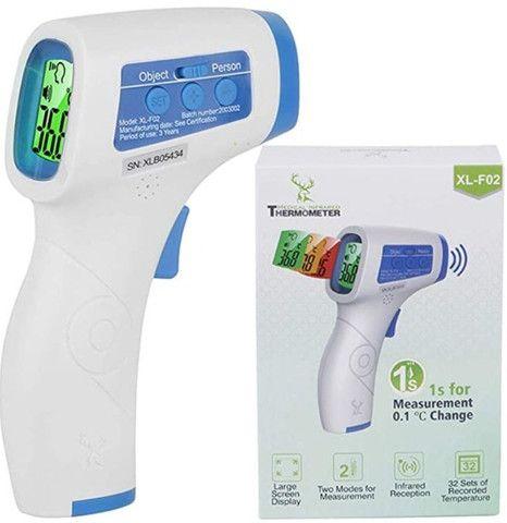 Termometro digital pulso ou testa