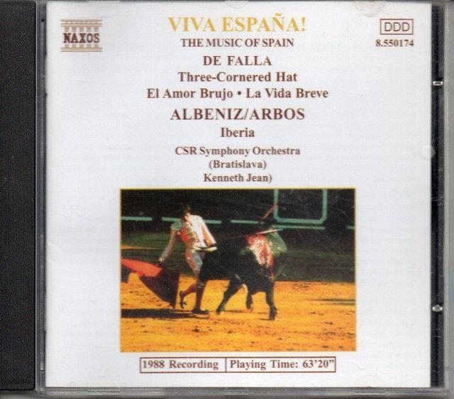 CD - Viva España - CSR Symphony Orchestra