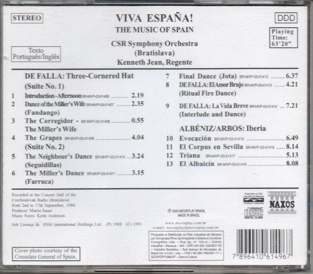CD - Viva España - CSR Symphony Orchestra - Foto 2