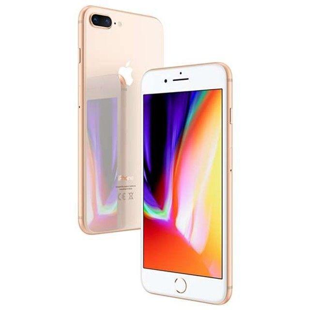 "Apple iPhone 8 Plus A1864 Swap 64GB Tela Retina de 5.5"" 12MP / 7MP iOS - Dourado"