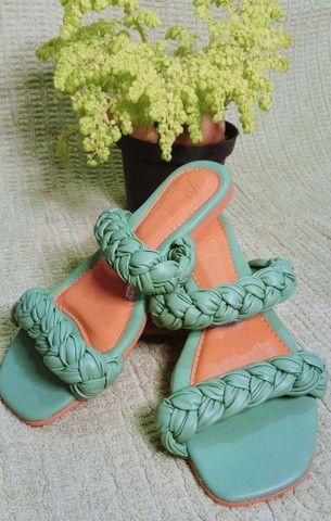Sandália rasteira  - Foto 3