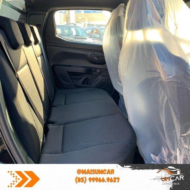 Fiat Strada 2021 - Endurance - 1.4 Flex - Preta - Pronta Entrega - Foto 9