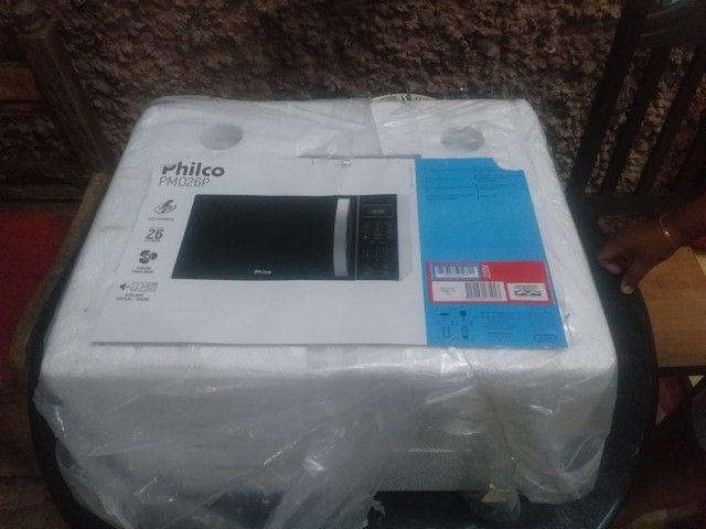 Microondas Philco PM026P Novo - 220V