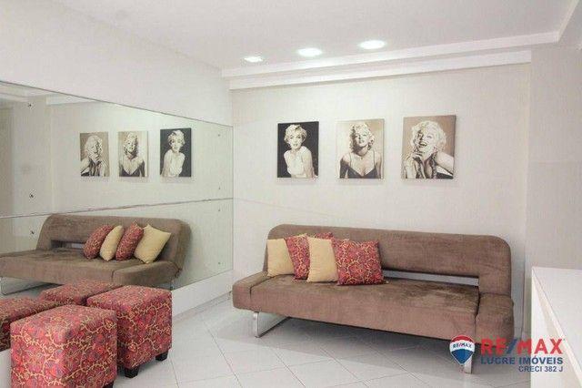 Apartamento com 1 dormitório à venda, 66 m² por R$ 310.000,00 - Cabo Branco - João Pessoa/ - Foto 8
