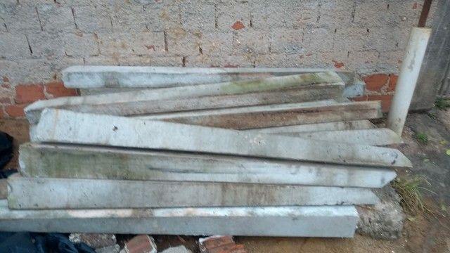 Palitos de concreto