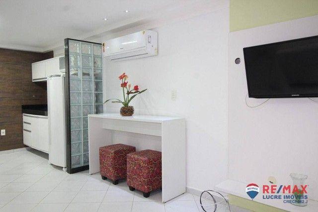 Apartamento com 1 dormitório à venda, 66 m² por R$ 310.000,00 - Cabo Branco - João Pessoa/ - Foto 15