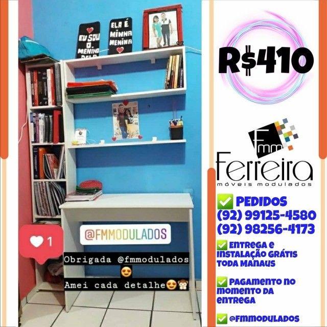 56. Promoção Kit Escritório = Mesa+Nicho+Prateleira+Torre :) - Foto 6