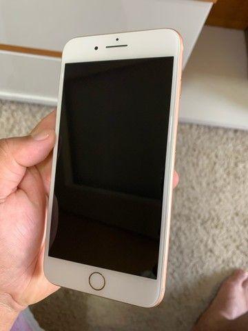 IPhone 8 Plus 64gb Gold estado de Zero Impecável  - Foto 6