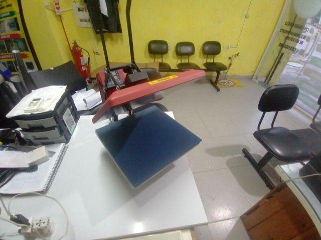 Máquina de estampa blusa - Foto 3