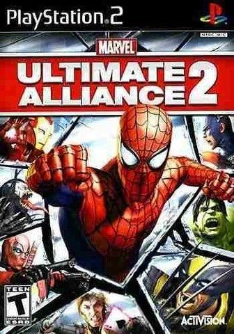 Jogos Marvel Super Hero Squad + Marvel x Capcom + Ultimate Aliance 2 pt/br PS2 Patch - Foto 3