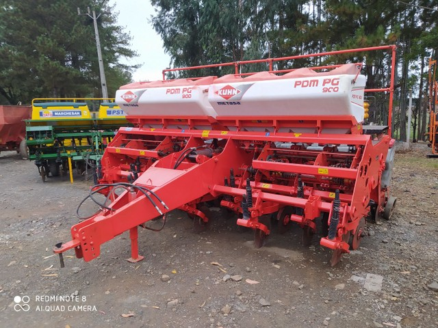 Plantadeira 9 linhas khun PDM PG900  2011 - Foto 6