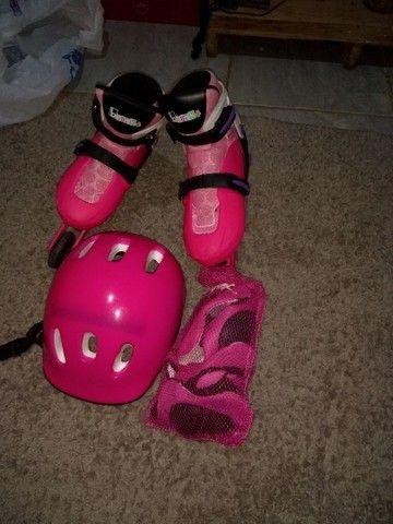 Patins rosa. - Foto 3