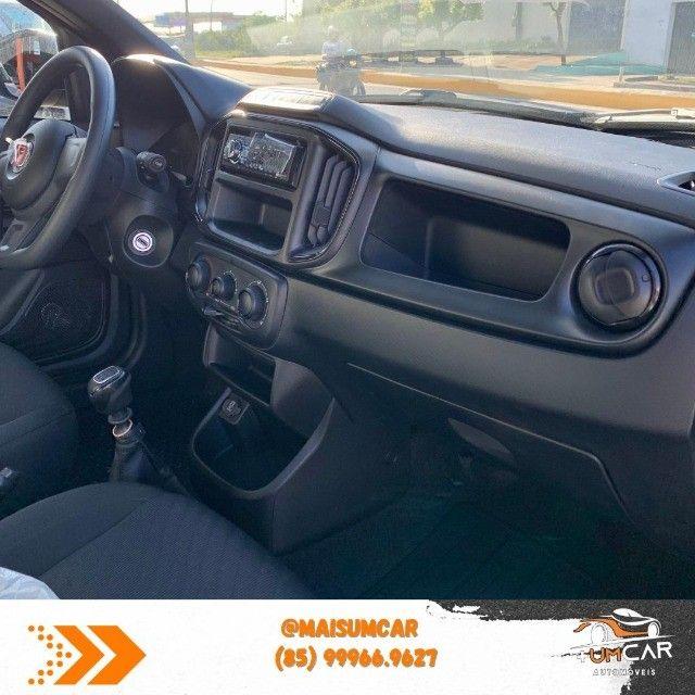 Fiat Strada 2021 - Endurance - 1.4 Flex - Preta - Pronta Entrega - Foto 7