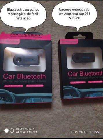 Bluetooth pra carro ou som de casa vários modelos - Foto 2