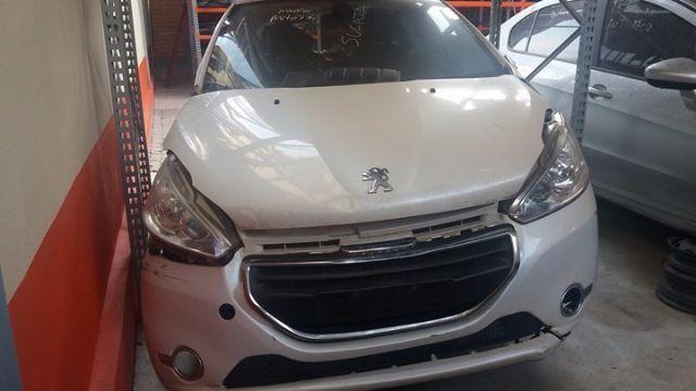 Peças usadas Peugeot 208 2013 2014 1.6 16v 122cv flex câmbio automático