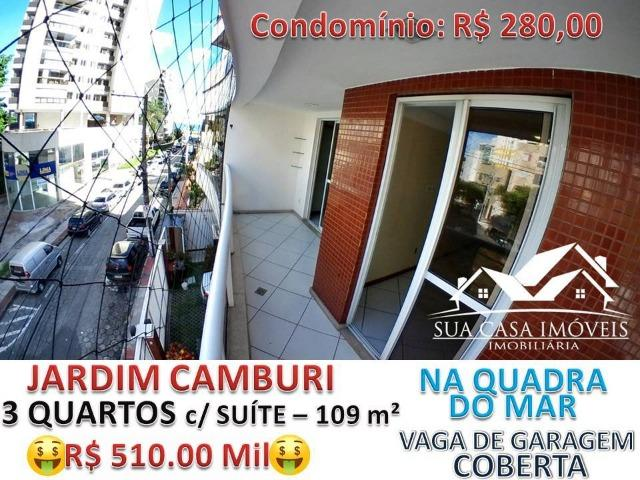 Lindo Ap Novo Ótima taxa de juros 3 Quartos c/ suite, todos os quartos c/ Varanda -109 m²