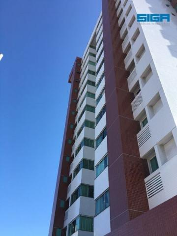 Apartamento 3/4 com armários em Lagoa Nova
