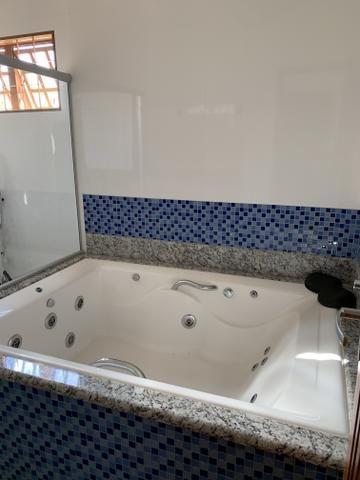 Linda casa de 3 qts, suite com hidromassagem em lote de 525 metros em Sobradinho 1 - Foto 7