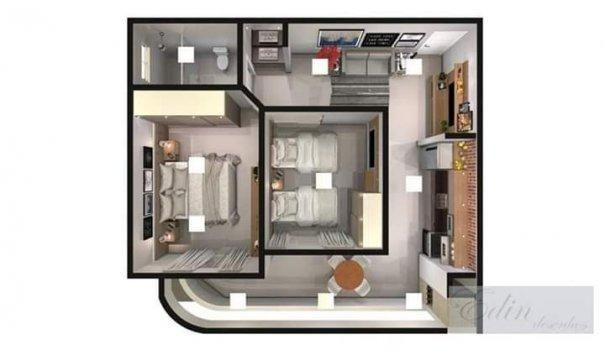 Apartamento Parcelado no centro de Caldas Novas - Flat a Venda no bairro Vila Ol... - Foto 5