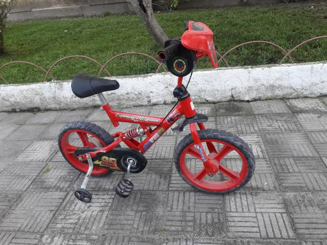 Vendo bicicleta carros aro 16 - Foto 4