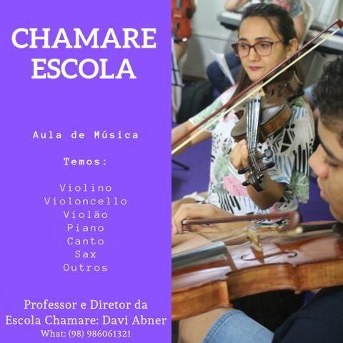 Aula de Baixo Elétrico - ESCOLA CHAMARE - Foto 2