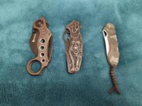 Três Canivetes Lâminas Oportunidade Imperdível - Foto 5